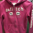Abercrombie & Fitch Kids Youth Xl Pink Zip Up Hoodie Sweatshirt