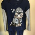 Women's Size 12 Navy Blue Ncaa Penn State Nittany Lions Shirt And Pants Outfit
