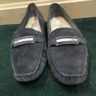 Women's UGG Slippers Loafers Dark Gray. Size 11