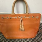 Dooney And Bourke Orange Leather Handbag
