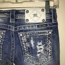 Miss Me Jeans Nwot Size 26 Je9041tr Straight Jeans