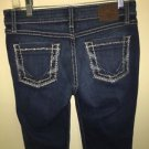 Buckle- BKE Sabrine Mid Rise Boot Cut Jeans  Stretch Size 27X 31 1/2