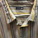 Sperry Top Sider XXl Striped Mens Button Up Shirt Long Sleeve 100% Cotton