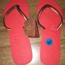 havaianas flip flops Strawberry Color 4130442 RP $18 9/10w