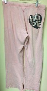 Women's Small Victoria's Secret Pink Boyfriend Fit Pink Sweatpants