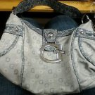 Guess Grey Purse with grey Accents & small guess logos