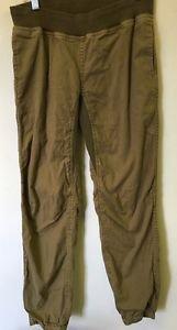 Women's Medium Khaki Tan The North Face Jogger Pants Skinny Leg