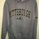 Oldvarsity Brand Men's Small Pittsburgh Panthers Grey Pullover Hoodie Sweatshirt