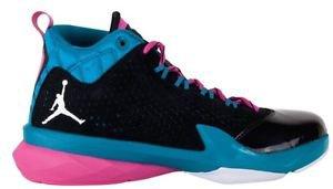 """Mens 9 NIKE """"Jordan Flight Time 10.5 Black Shoes $130 654272-026"""