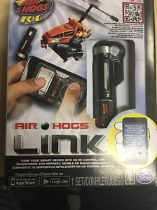 New Air Hogs Link R/C  Remote Control Use with Smart Phone Device