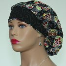 Bouffant scrub Cap-Handmade-Surgical Cap-Nurse Cap-Medical Scrub Women's Hat-100% Cotton.