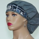 Bouffant Surgical Scrub Cap-Handmade-Medical Cap-Veterinarian Cap-Anesthetist Cap-100% Cotton.