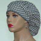 Bouffant Surgical Scrub Cap-Anesthetist Scrub Cap-Veterinarian Cap-Women's Hat-100% Cotton.