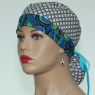 Ponytail Scrub Cap-Surgical Scrub Cap-Medical Cap-Nurse Cap-