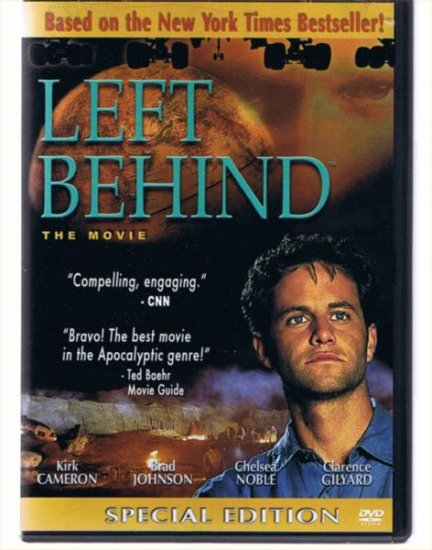 Left Behind - DVD Movie - Kirk Cameron