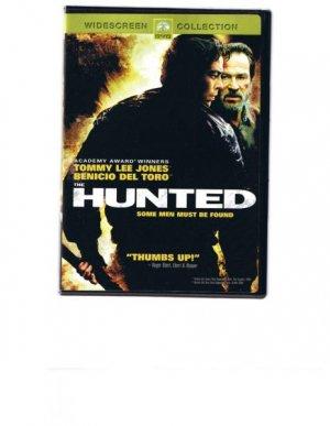 Hunted - DVD movie - Tommy Lee Jones, Benicio Del Toro