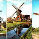 BZ160. Postcards of Dutch Windmills x 3