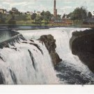 CJ07. Vintage US Undivided Postcard. Passaic Falls. Paterson. New Jersey