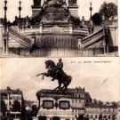 BZ185. Vintage Postcards X 2. Views of Rouen. France. Statues.