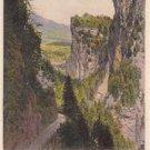 CM34. Vintage Postcard. Viamala gegen Hohenrhatien. Switzerland