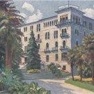 CM06.Vintage Postcard. Hotel de la Paix. Lugano, Switzerland