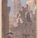 CJ88.Vintage Postcard.La Rue de l'Eveche. Angers, France