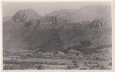 CL92.Vintage Postcard. Simonsberg Mountain. South Africa.