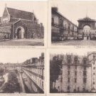BZ091.Vintage Postcards x 4. Views of Nantes,France.