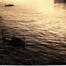 CP09.Vintage Photograph. Taken Malta 28th May, 1955. Row Boats.