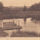 CJ66. Vintage Luxembourg Postcard. Park at Mondorf-les-Bains.