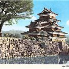 CN29.  Postcard. View of Matsumoto Castle, or Crow Castle. Japan.