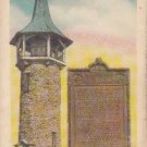 CH56.Vintage Postcard. Settler's Memorial Tower, Kitchener, Ontario. Canada