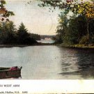 CP39. Vintage Canadian Postcard. Canoe on the North West Arm. Halifax