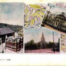 CG67. Vintage Canadian Postcard.Cathedral and churches of Halifax.