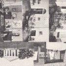 BZ030.Vintage Postcards x 5.Lee Mansion.Arlington National Cemetery.Virginia
