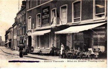 CP10.Vintage Postcard. Forges Les Eaux Station Thermale Hôtel du Mouton. France