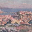 CJ68.Vintage Tucks Postcard. Rock of Monaco. Rocher de Monaco.