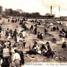 CP15.Vintage French Postcard.Ocean Boulevard and Beach. Saint Nazaire. By LL