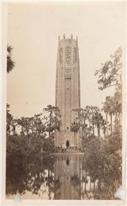CM03. Vintage Postcard. Bok Singing Tower. Lake Wales. Pinella county. Florida