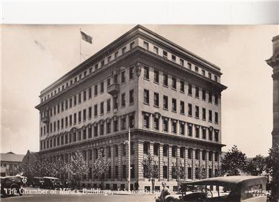 CM08.Vintage Postcard. The Chamber of Mines Building. Johannesburg.South Africa