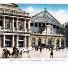 CL54.Vintage Slimline Italian Postcard. Rome. Piazza dei Cinquecento