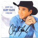 AUTOGRAPHED Clint Black HOF Signed CD