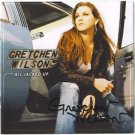 Autographed GRETCHEN WILSON signed CD All Jacked UP