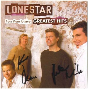 AUTOGRAPHED LONESTAR GREATEST HITS CD Signed  ON SALE