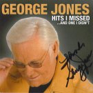 AUTOGRAPHED George Jones Signed CD HOF ON SALE