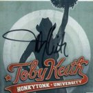 TOBY KEITH Honkytonk University Autographed CD Signed