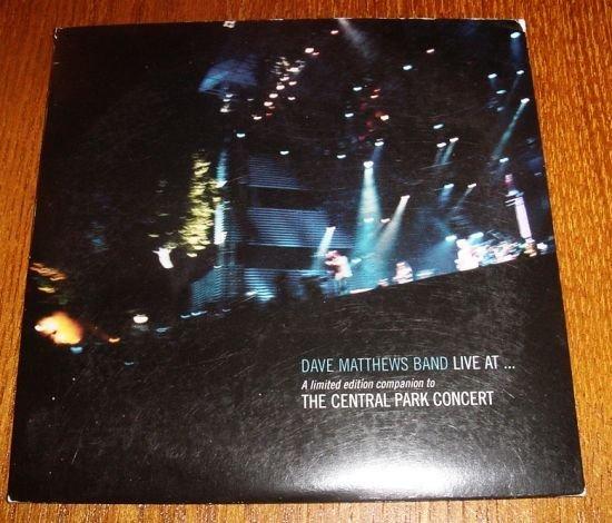 RARE Dave Matthews Band Central Park Bonus CD....Out of Print