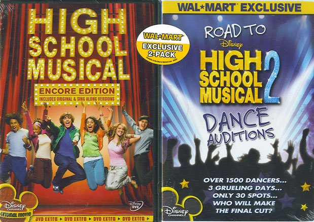 High School Musical (Encore Edition) w BONUS Road to Disney's High School Musical 2 Dance Auditions
