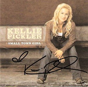 AUTOGRAPHED Kellie Pickler Small Town Girl CD Signed