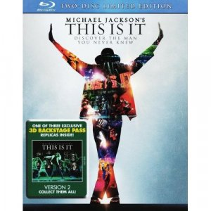 Michael Jackson: This Is It (Two-Disc Limited Edition with 3D Backstage Pass version 2) [Blu-ray]